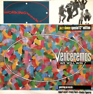 "Working Week - Venceremos (We Will Win) (12"") (VG-EX/VG)"